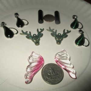 PENDANT BEADS 5 Sets 10 Total NEW